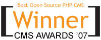 Joomla! Wins 'Best CMS Award' Again!