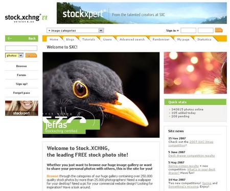 stock.xchng - the leading free stock photography site