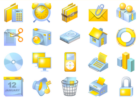 560 Nice and Free Icons for Web Application Developers