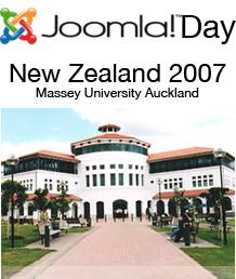 Joomla!Day New Zealand, 15th December 2007
