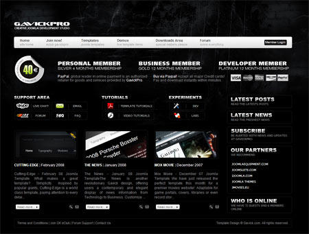 GavickPro Launches New Home Page