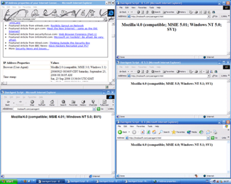 Install multiple versions of IE on your PC