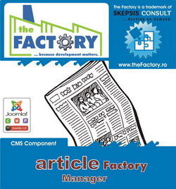 Article Factory Manager is J! 1.5 ready