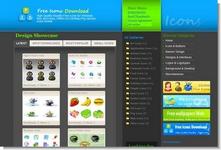 Over 250 High Quality Free Icon Sets