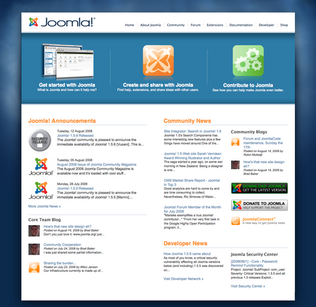 Joomla.org launches redesign!