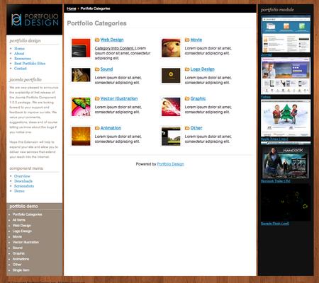 Joomla Portfolio Component 1.0.0 Released