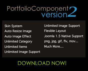 Joomla Portfolio Component 2.0.0 Released