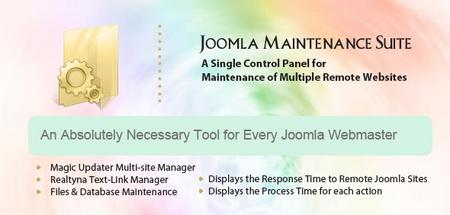 Maintenance Suite for Joomla