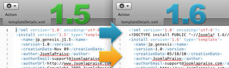 Joomla 1.5 to 1.6 Template Upgrade Tutorial (Part 1)