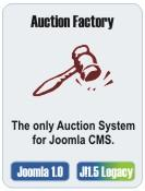 Auction Factory 1.7.3 - Joomla eBay-like Auctions Extension