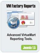 VirtueMart Factory Reports - Advanced Reporting Tool for VM
