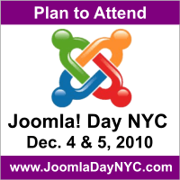 Free Ticket to Joomla Day NYC