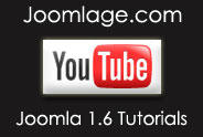 Joomlage.com Joomla 1.6 Tutorials at YouTube