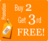 Joomla-Monster.com Buy 2 get the 3rd FREE!