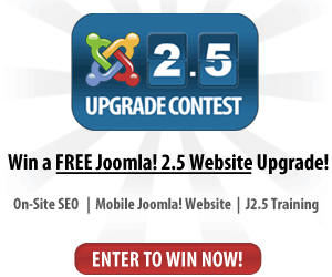 Win an extreme makeover for your Joomla! website
