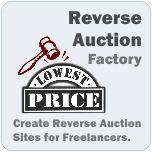 Reverse Auction Factory from The Factory !