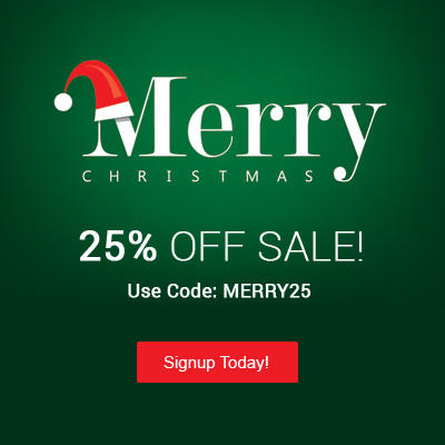 Christmas 2014 Sale - 25% Off All Memberships
