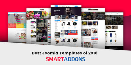 Best Free & Premium Joomla Templates of 2016