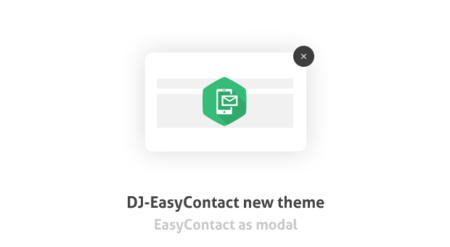 Updated DJ-EasyContact comes with a new theme!
