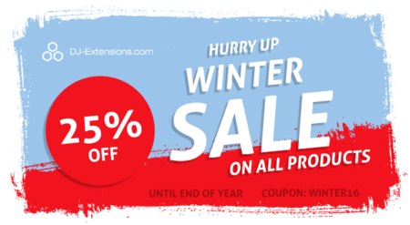 Christmas sale - Joomla extensions are 25% OFF!