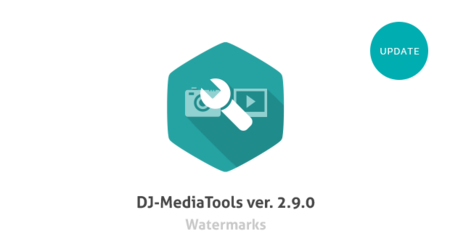 Watermarks in DJ-MediaTools 2.9.0