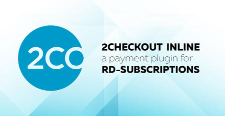 2Checkout Inline payment plugin for RD-Subscriptions