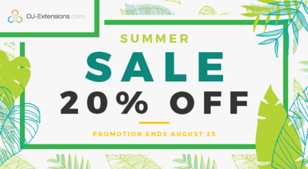 Summer sale - 20% OFF on all!