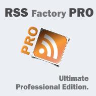 RSS Factory PRO update!