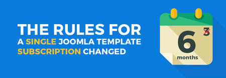 Good news regarding a paid subscription for Joomla template