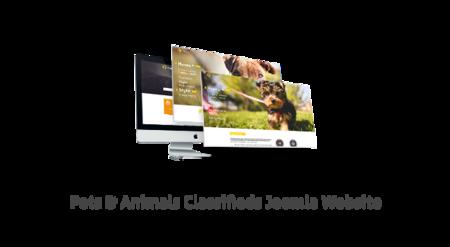 Pets & Animals Classifieds Joomla Website