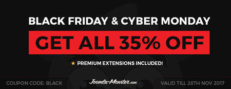 Black Friday and Cyber Monday 2017 deals!