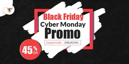 Biggest Joomla Black Friday & Cyber Monday Deal 2017 - Flat 45% OFF