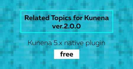 Related Topics for Kunena v.2.0.0 is free now