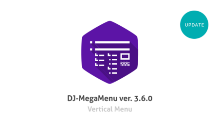 Introducing DJ-MegaMenu with Vertical Menu orientation