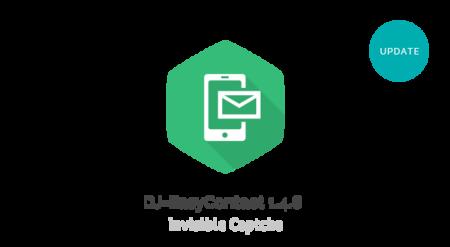 DJ-EasyContact and Invisible reCaptcha