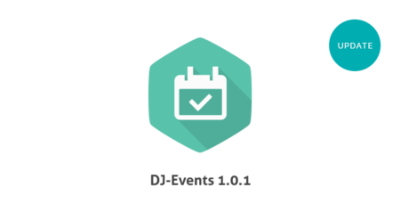 DJ-Events ver. 1.0.1 is available!