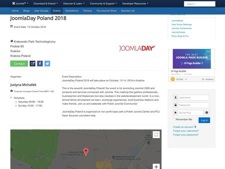 JoomlaDay Poland 2018