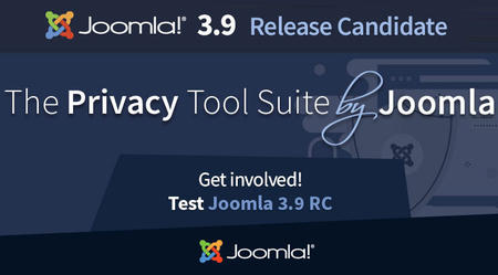 Joomla 3.9 Release Candidate is out!