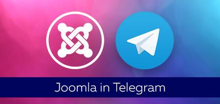 Telegram channel about Joomla