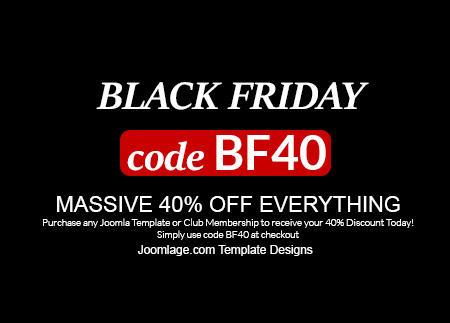 Massive 40% Off - Black Friday Sale
