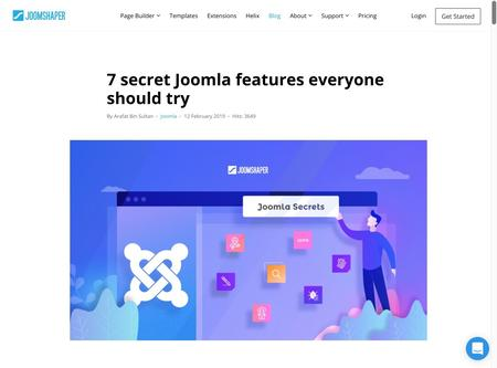 7 secret Joomla features everyone should try