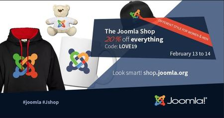 The Joomla Shop 20% off everything