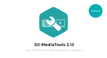 "DJ-MediaTools with ""Save as copy"" for albums, Joomla 4 compatibility, new file browser & more"