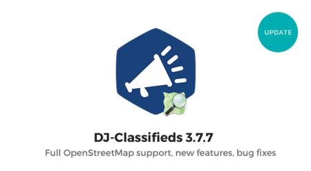 DJ-Classifieds 3.7.7 with full OpenStreetMaps support and more features