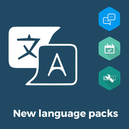 New language packs for Joomla extensions