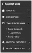 BT Accordion Menu - Free alternate Joomla! login module with special effect