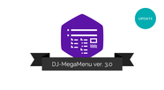 Release of DJ-MegaMenu version 3.0