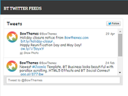 BT Twitter Feed - Free twitter feed widget for Joomla 3.x & 2.5