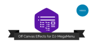 Watch the video explaining how off canvas effects in DJ-MegaMenu works
