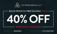 Black Friday / Cyber Monday 40% discount on Joomla extensions!